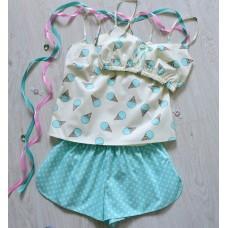 Пижама хлопковая Мороженки