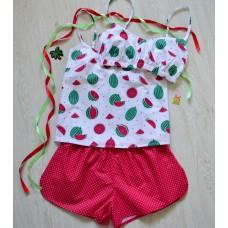 Пижама хлопковая Арбузы