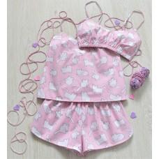 Пижама хлопковая Котята