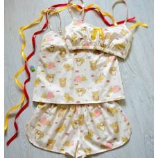 Пижама хлопковая Корги
