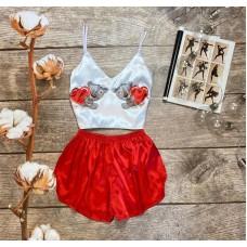 Шелковая пижама valentine