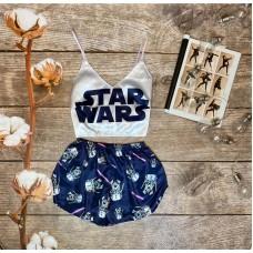 Шелковая пижама star wars