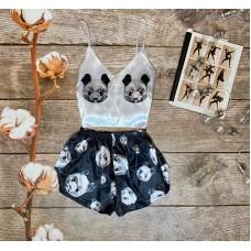 Шелковая пижама panda