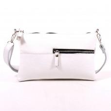 Кожаная женская сумка Мира белая