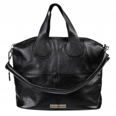 Кожаная женская сумка Nightinghale черная