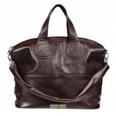 Кожаная женская сумка Nightinghale шоколадная