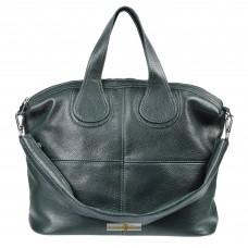 Кожаная женская сумка Nightinghale зеленая