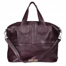 Кожаная женская сумка Nightinghale виноградная