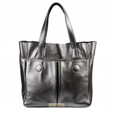 Кожаная женская сумка Палермо никель