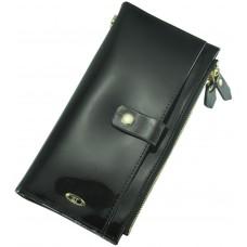 Кожаный женский кошелек BC420 Black