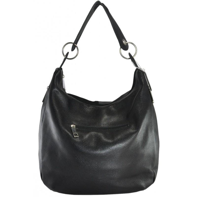 5ebd0e1003e4 Кожаная женская сумка Неаполь велюр черная производства Украины