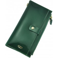 Кожаный женский кошелек BC420 GREEN
