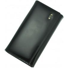Кожаный женский кошелек BC46 Black
