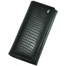 Кожаный женский кошелек AE150 black