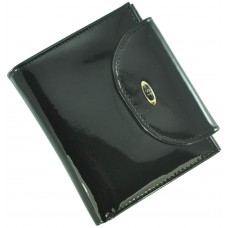Кожаный женский кошелек BC410 Black