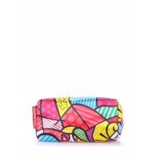 Косметичка POOLPARTY cosmetic-blossom-red