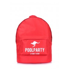 Рюкзак молодежный POOLPARTY backpack-oxford-red