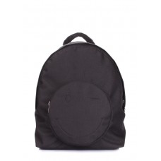Рюкзак женский POOLPARTY smile-backpack-black