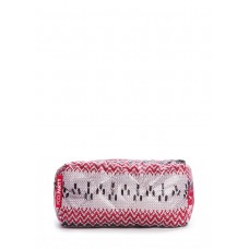 Косметичка POOLPARTY cosmetic-snowflakes-red